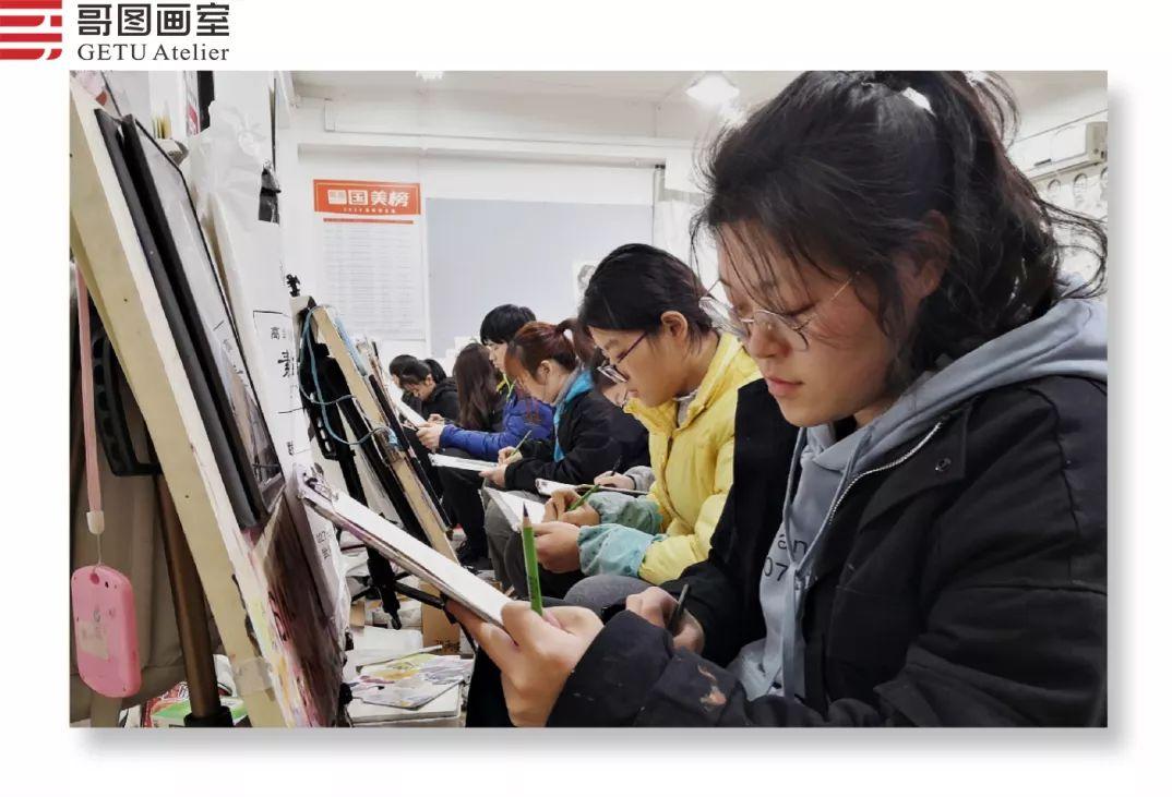 武汉哥图画室学子全力备战统考,武汉画室,美术统考     13