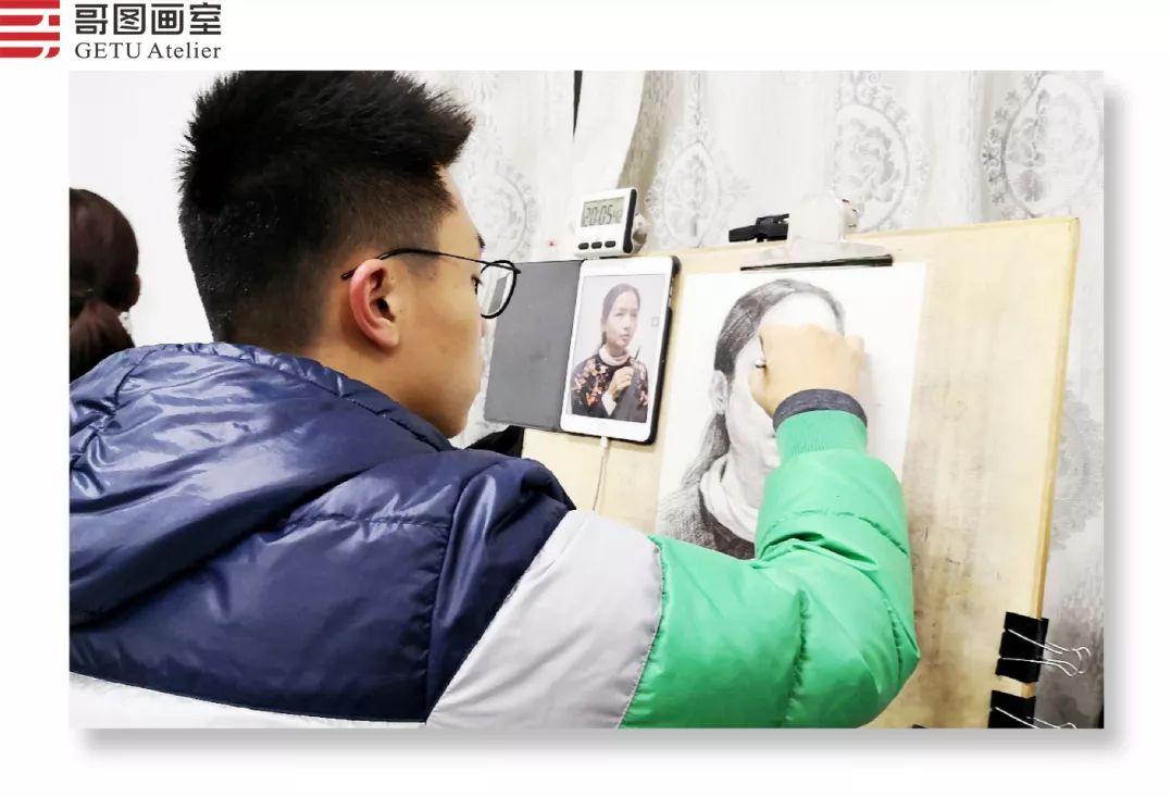 武汉哥图画室学子全力备战统考,武汉画室,美术统考     15