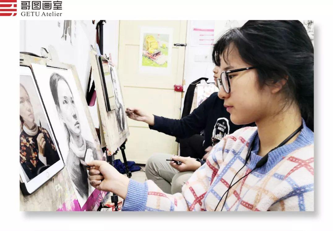 武汉哥图画室学子全力备战统考,武汉画室,美术统考     16