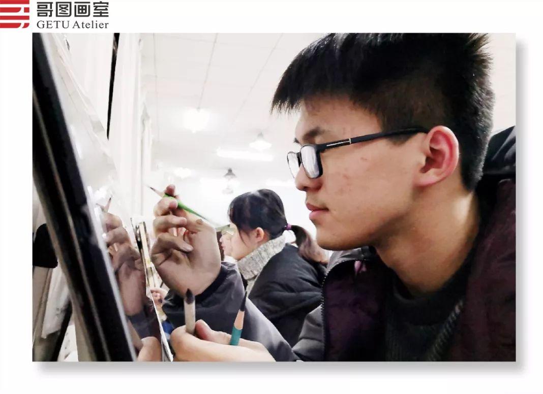 武汉哥图画室学子全力备战统考,武汉画室,美术统考     18