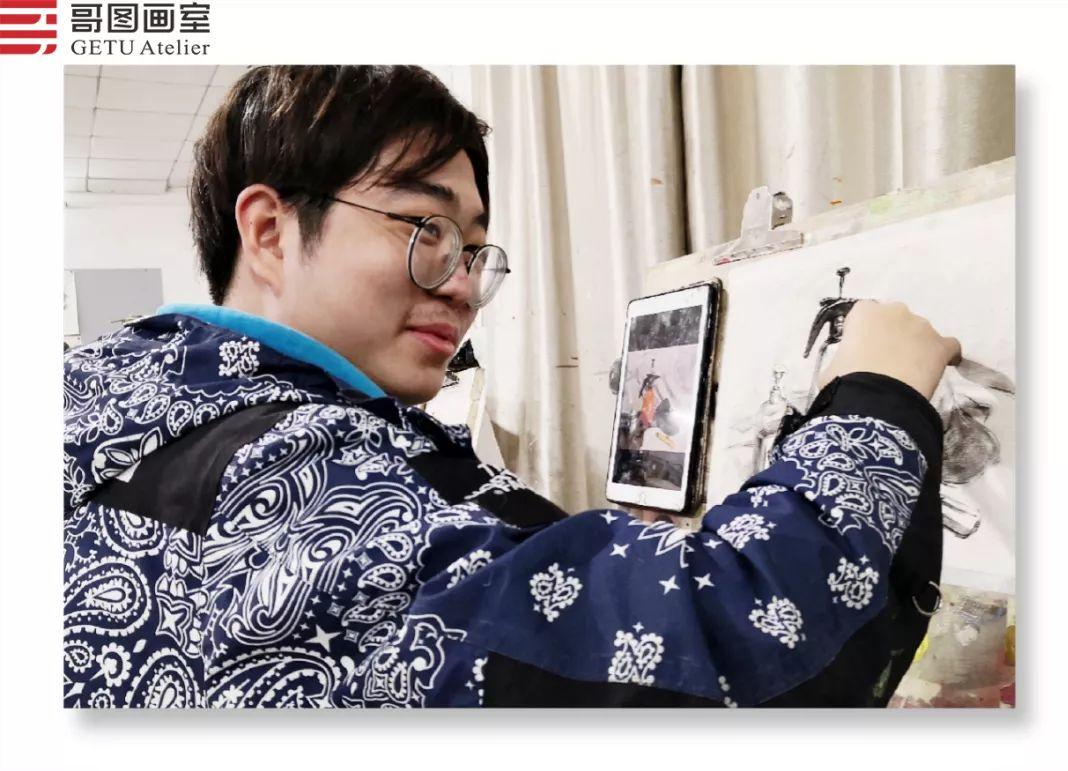 武汉哥图画室学子全力备战统考,武汉画室,美术统考     19