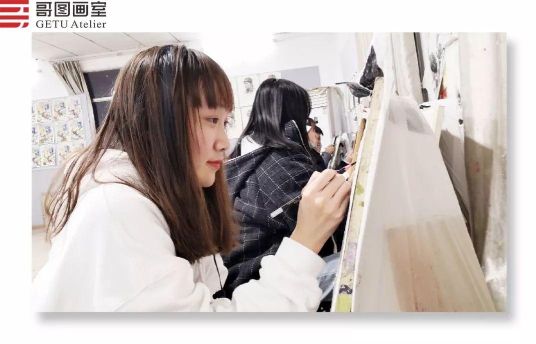 武汉哥图画室学子全力备战统考,武汉画室,美术统考     20