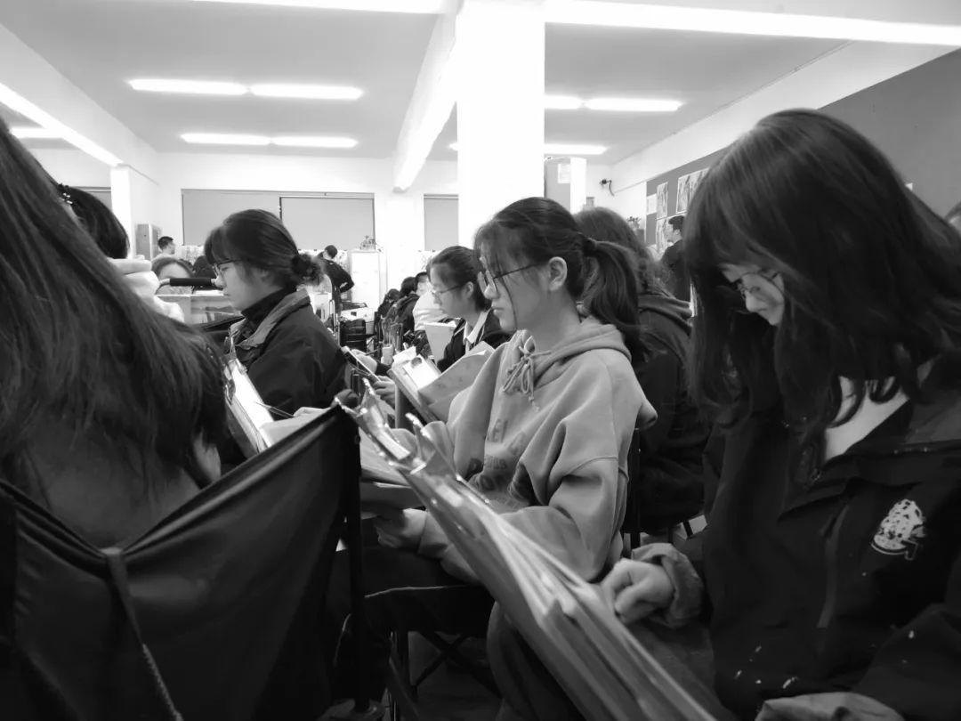 人生在此一搏|杭州白鹿画室,杭州画室,杭州美术联考     03