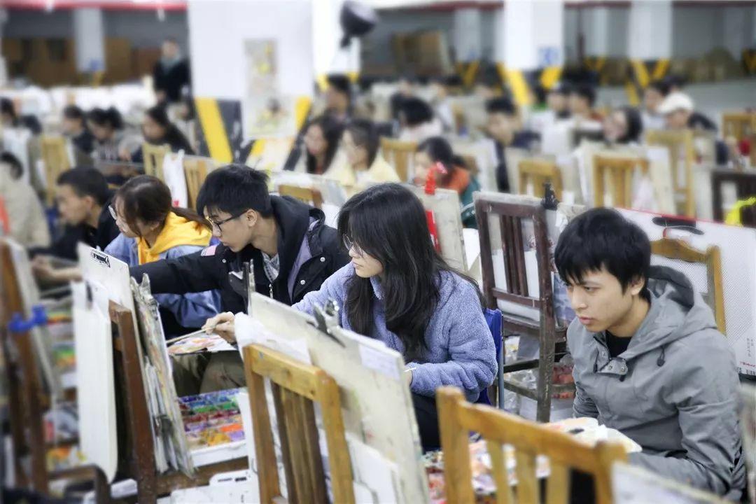 人生在此一搏|杭州白鹿画室,杭州画室,杭州美术联考     05