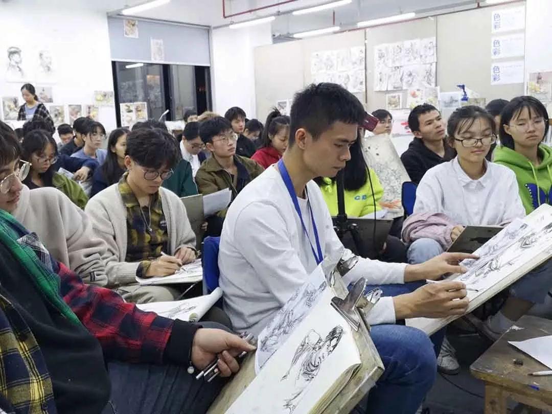 人生在此一搏|杭州白鹿画室,杭州画室,杭州美术联考     13