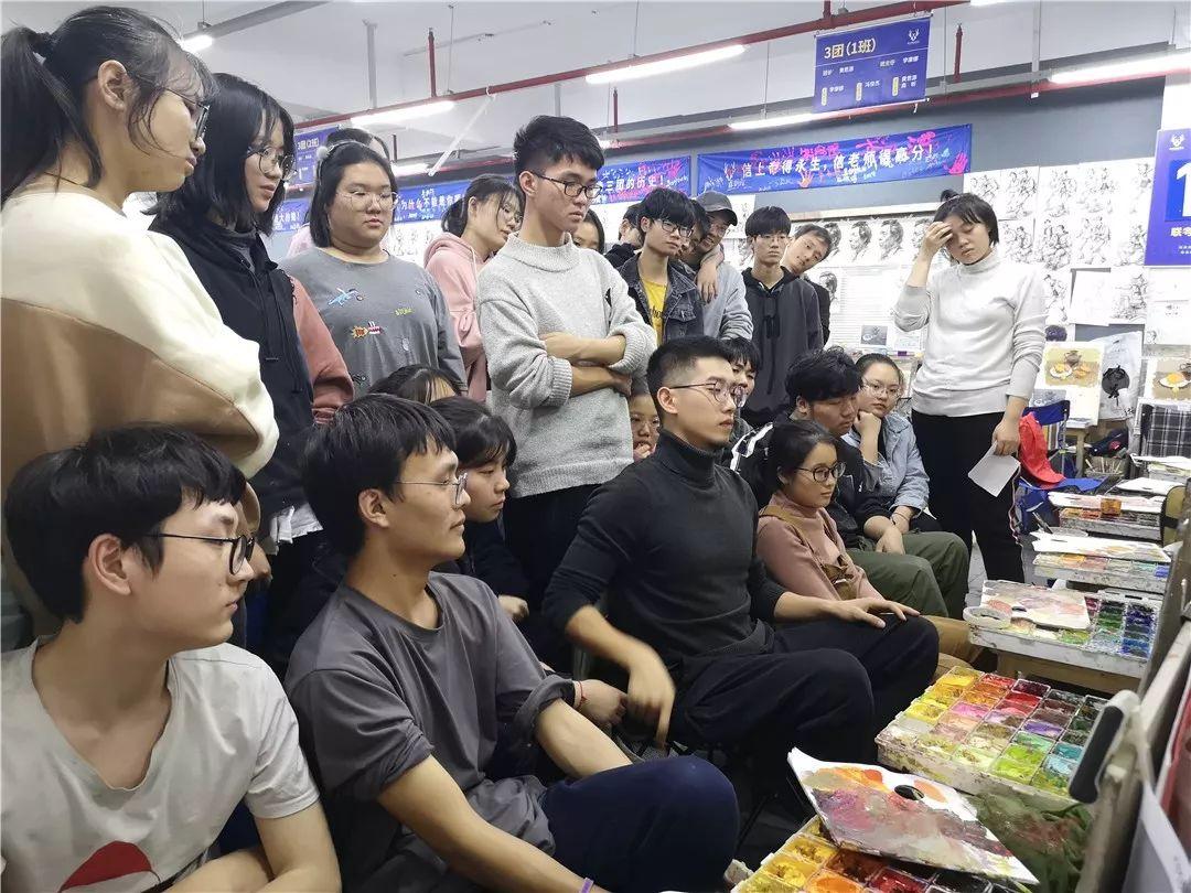 人生在此一搏|杭州白鹿画室,杭州画室,杭州美术联考     14