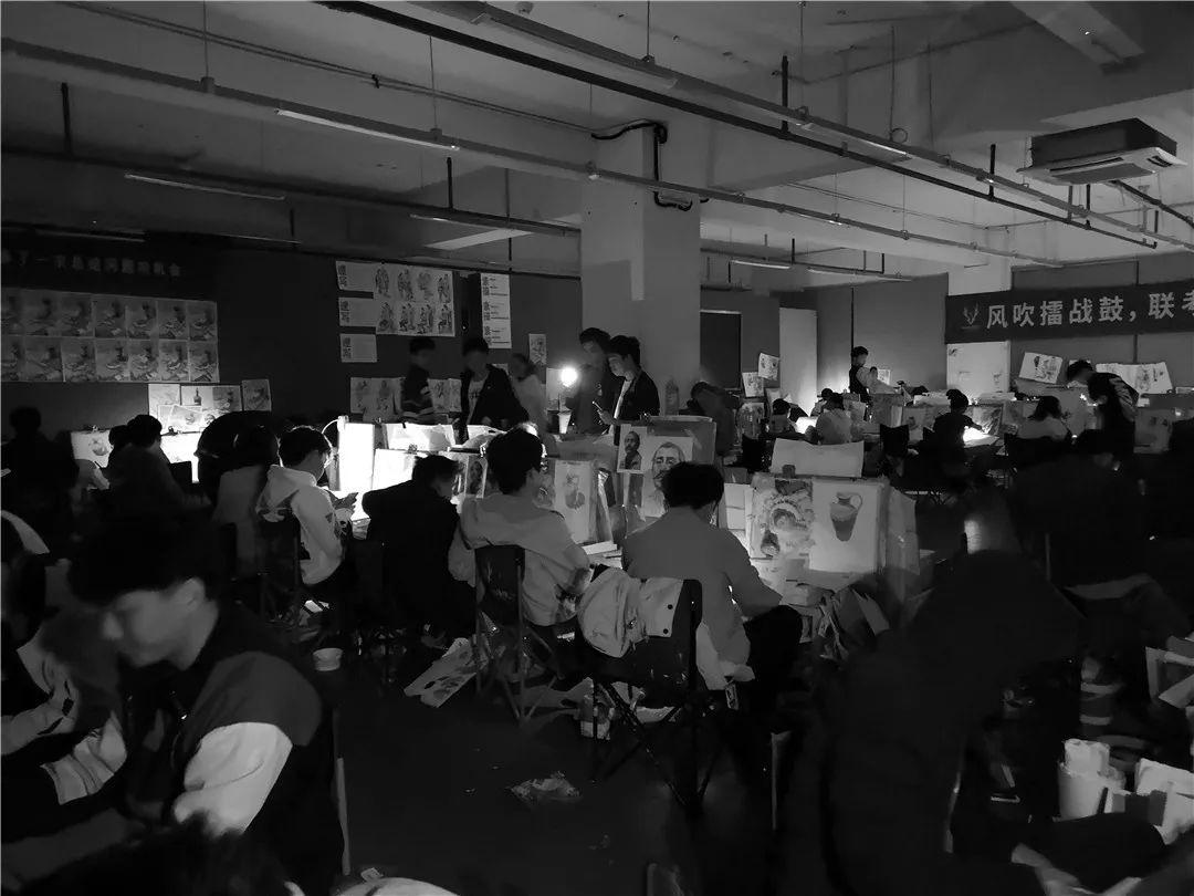 人生在此一搏|杭州白鹿画室,杭州画室,杭州美术联考     17
