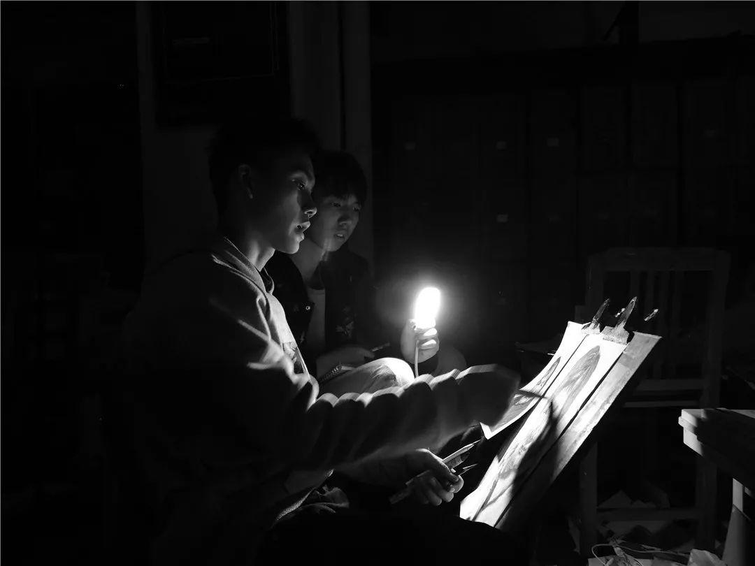 人生在此一搏|杭州白鹿画室,杭州画室,杭州美术联考     18