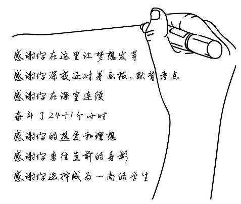 感谢每一个为我打开世界的人|广州度岸画室,广州画室,广州美术培训    25