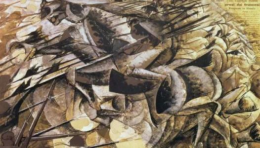 达达主义绘画派作品