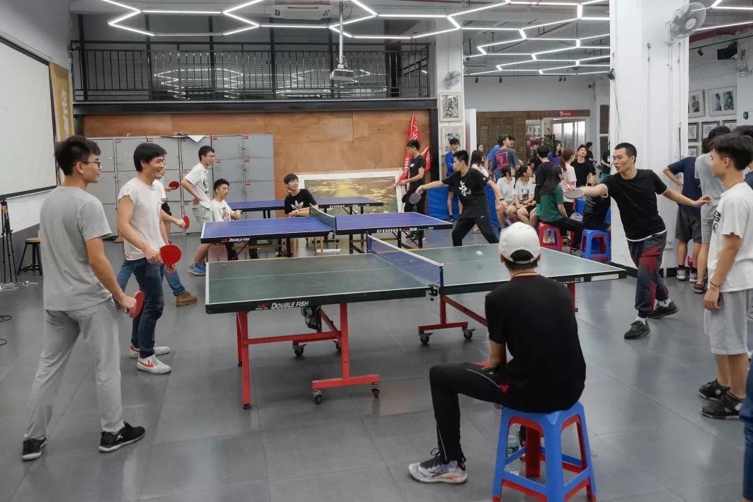寒阳画室运动——乒乓球