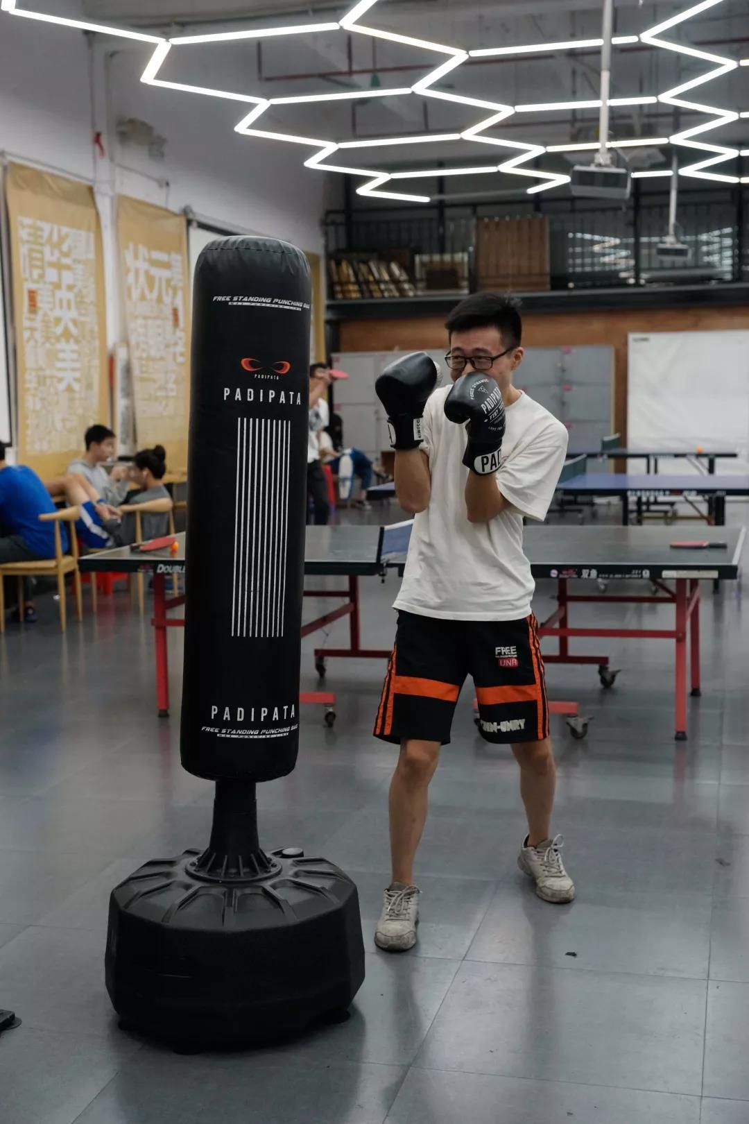 寒阳画室运动——拳击