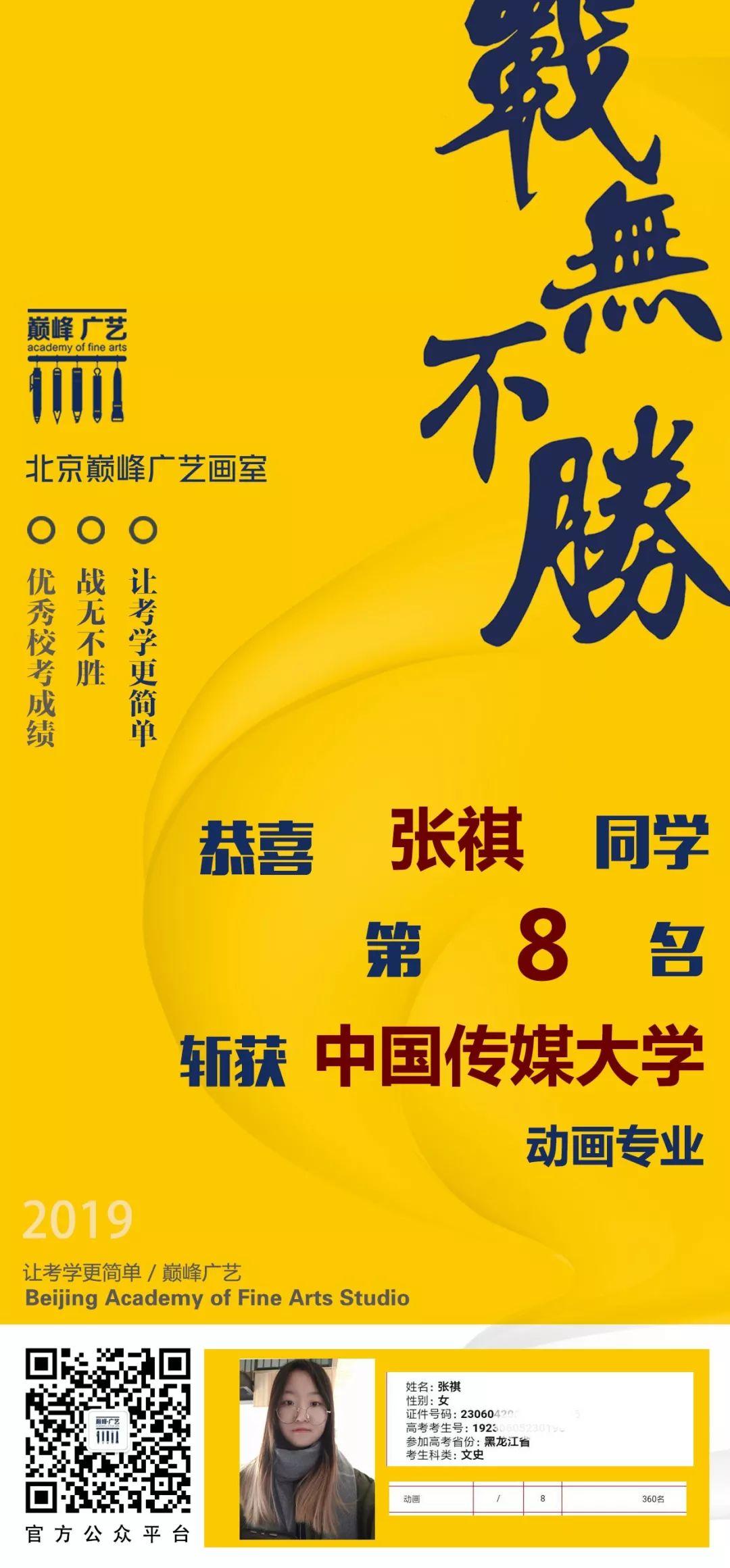 中国传媒大学,北京电影学院,中央戏剧学院,北京巅峰广艺画室       14