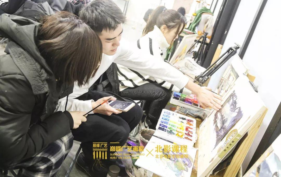 北京巅峰广艺画室,北京美术校考培训,北京画室     10