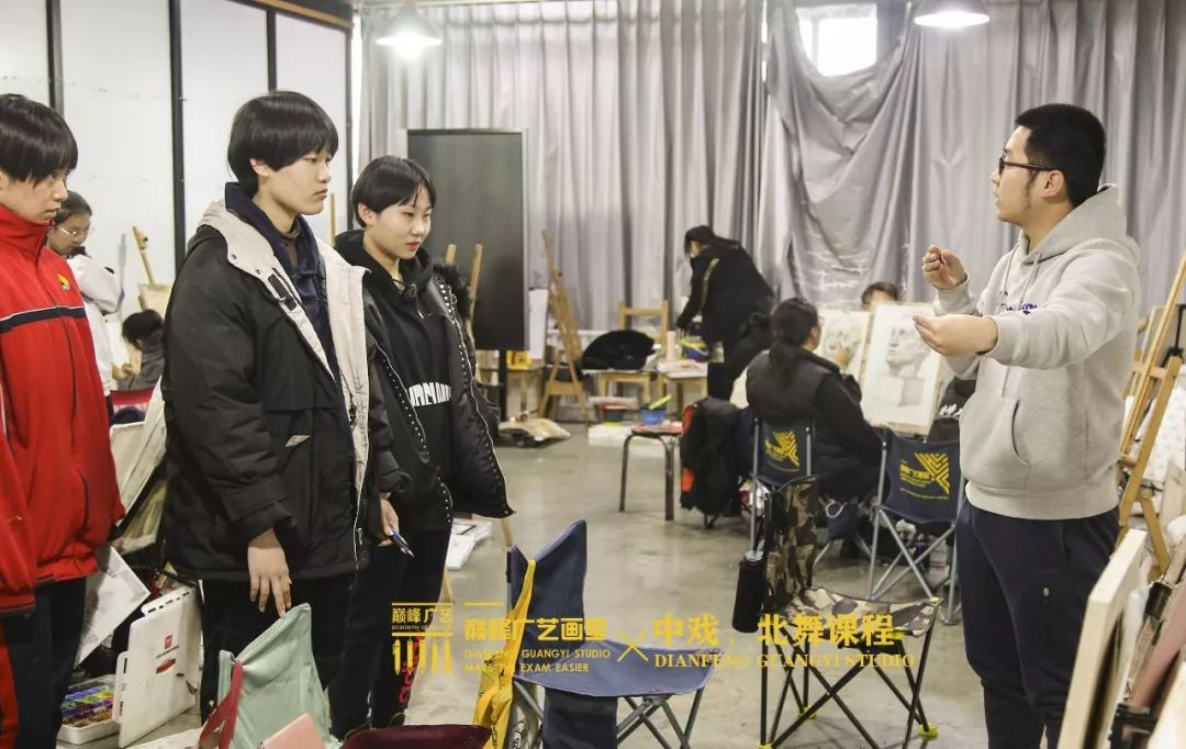 北京巅峰广艺画室,北京美术校考培训,北京画室     11
