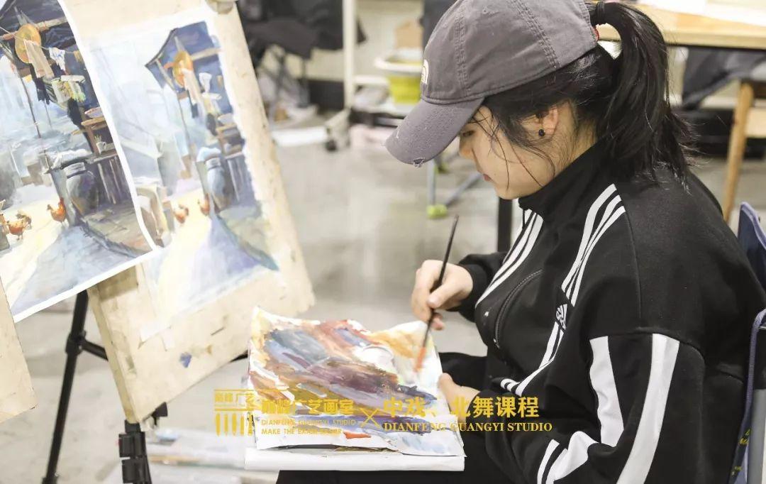 北京巅峰广艺画室,北京美术校考培训,北京画室     13