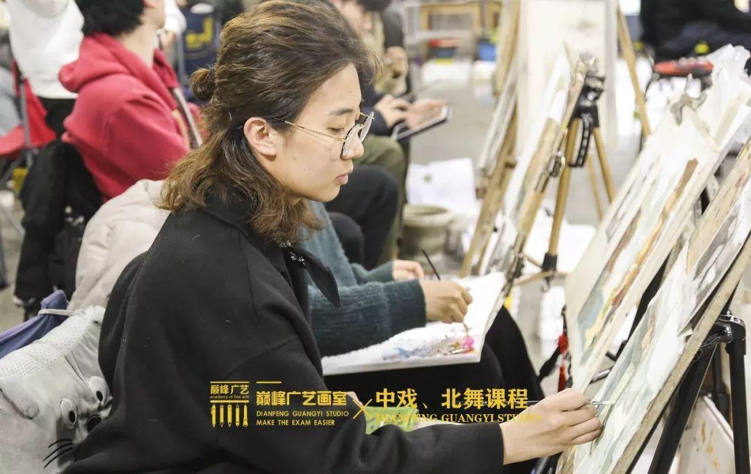北京巅峰广艺画室,北京美术校考培训,北京画室     16