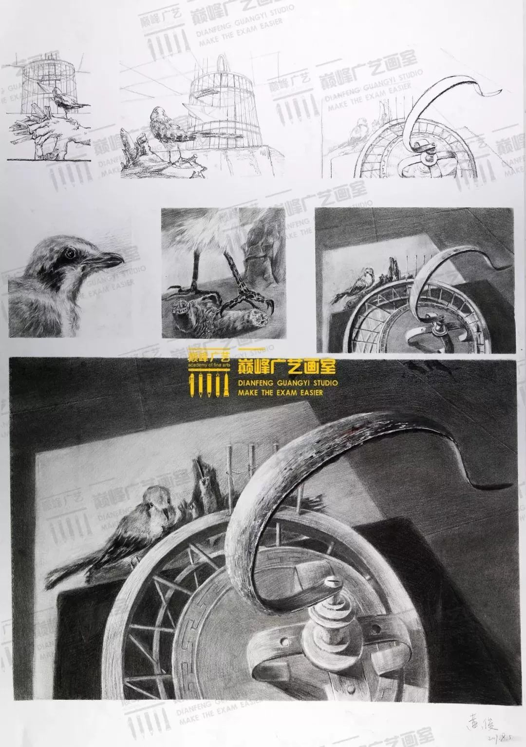 北京巅峰广艺画室,北京美术校考培训,北京画室     25