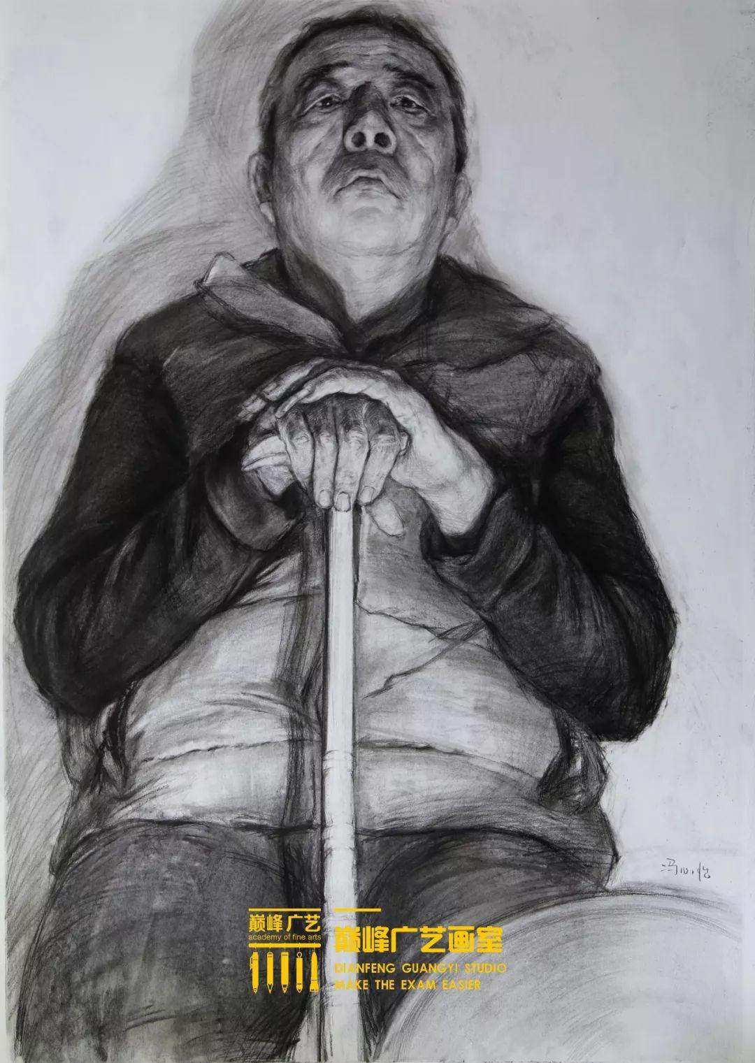 北京巅峰广艺画室,北京美术校考培训,北京画室     36