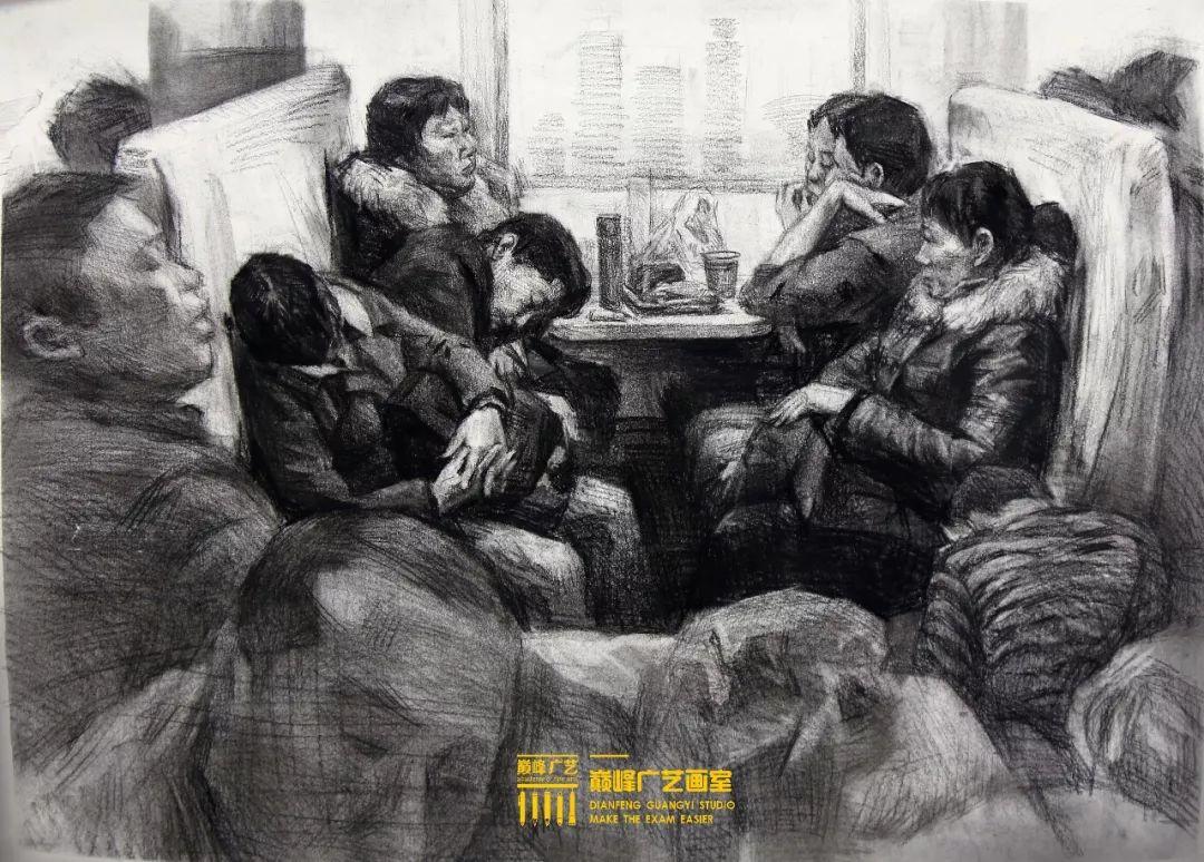 北京巅峰广艺画室,北京美术校考培训,北京画室     37