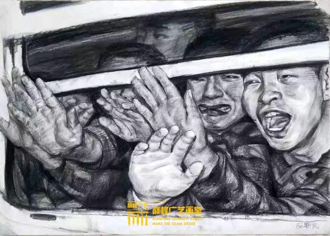 北京巅峰广艺画室,北京美术校考培训,北京画室     38