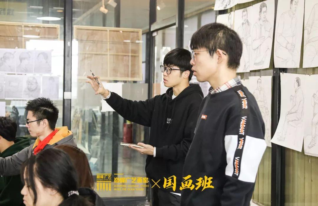 北京巅峰广艺画室,北京美术校考培训,北京画室     40