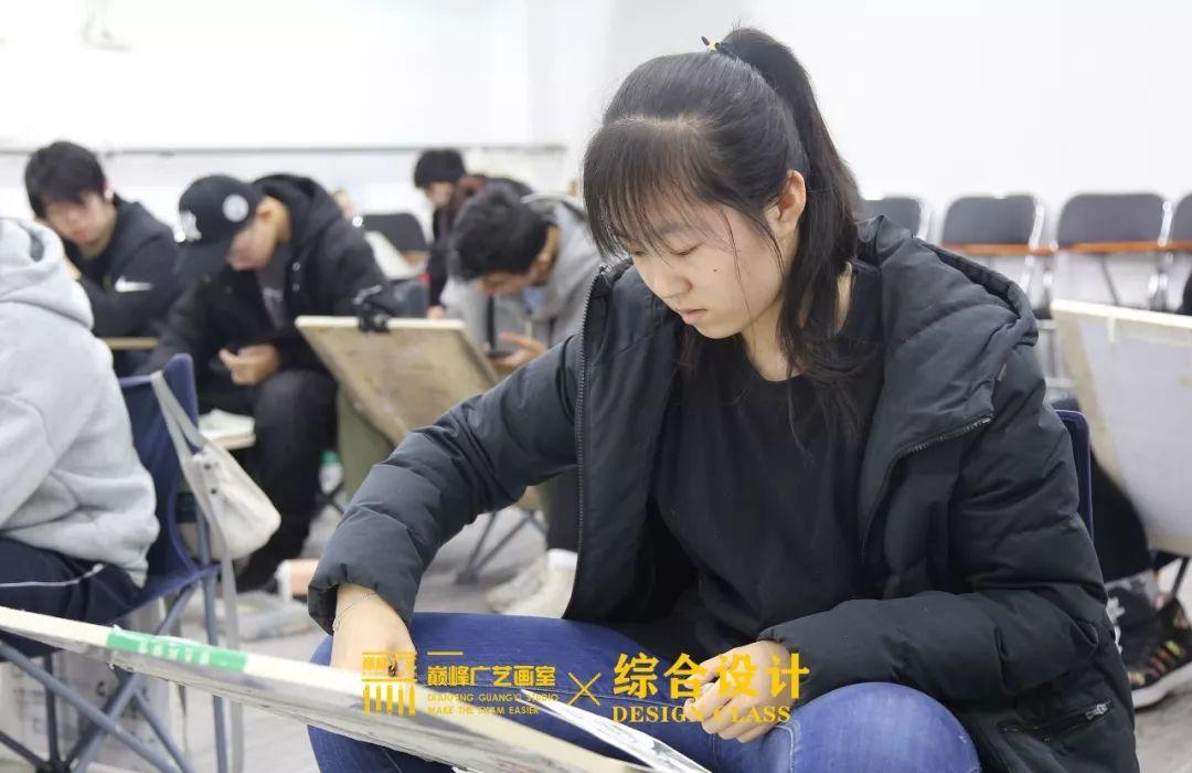 北京巅峰广艺画室,北京美术校考培训,北京画室     62
