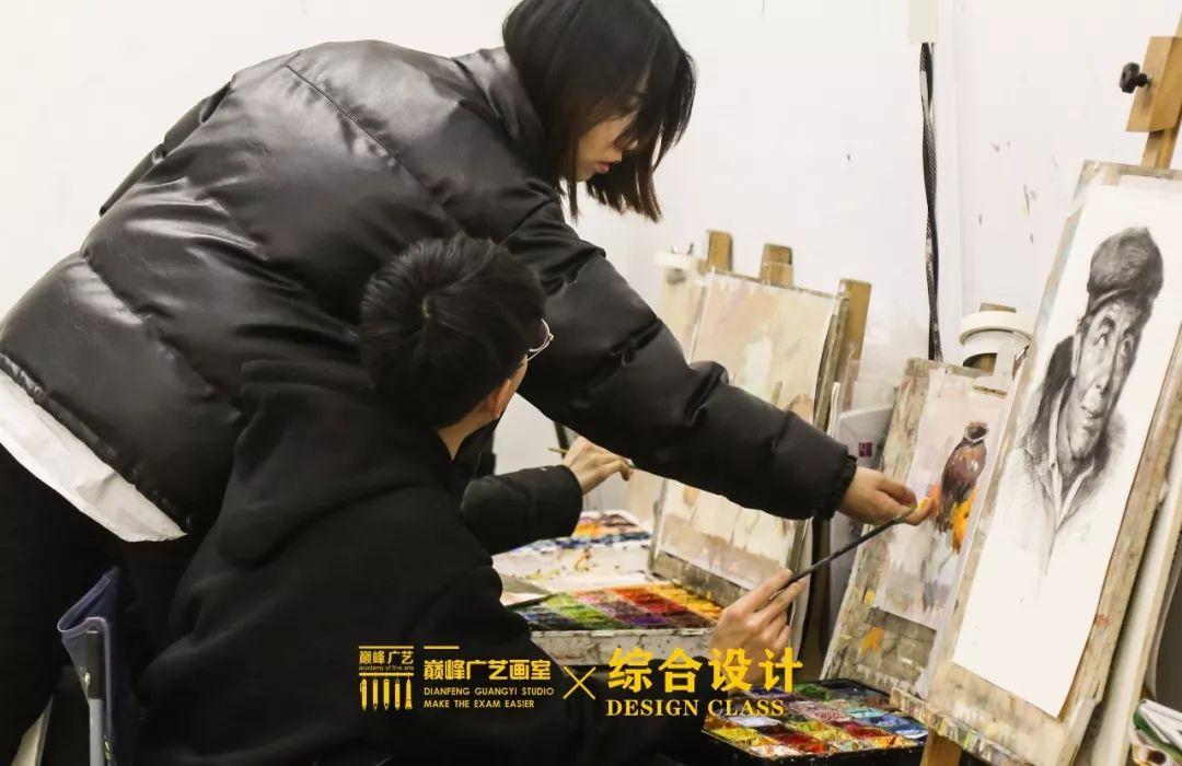 北京巅峰广艺画室,北京美术校考培训,北京画室     66
