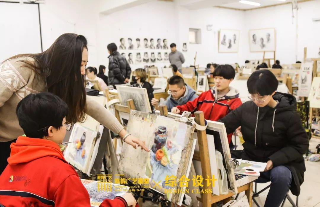 北京巅峰广艺画室,北京美术校考培训,北京画室     67