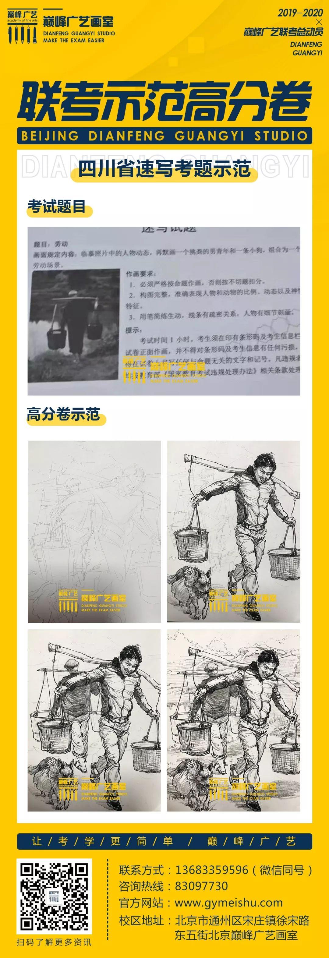 美术联考战绩,北京巅峰广艺画室,北京美术联考      11