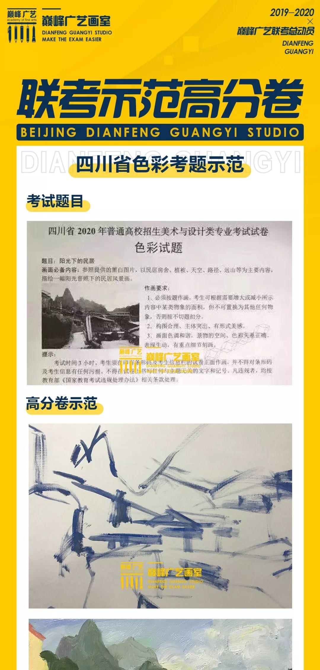 美术联考战绩,北京巅峰广艺画室,北京美术联考      13