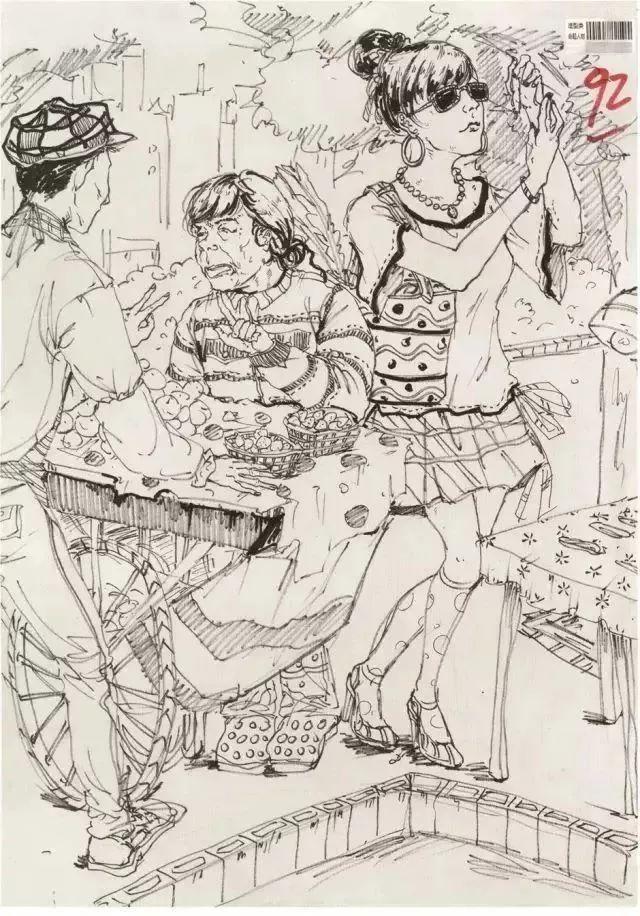 四川美院,美院考题,美院高分卷      50