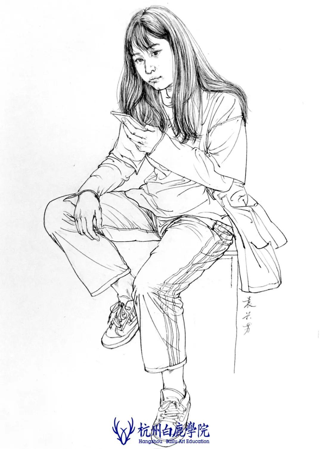 杭州白鹿画室,杭州美术校考,中国美术学院       15