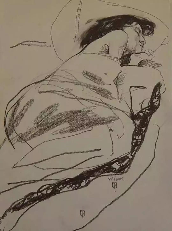 俄罗斯绘画大师 基里尔.Datsouk速写作品欣赏