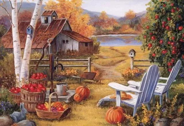意大利画家Antonietta Varallo油画欣赏