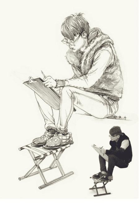 杭州画室:画照片的速写练习,你知道这其中的门道吗?