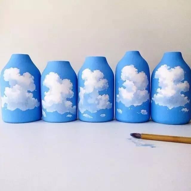 广州画室带你来看 | 印度艺术家将大自然画在陶罐上,美到令人心碎!
