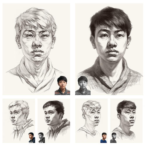 美术艺考培训画室总结!画素描头像中常见的五种问题!图二