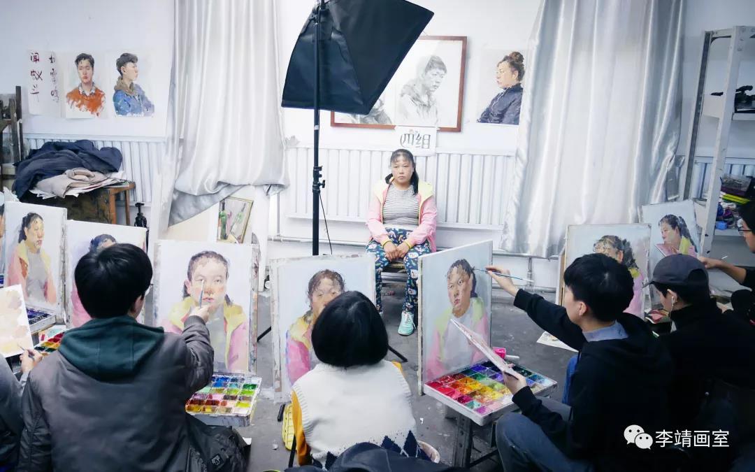 北京李靖画室月考