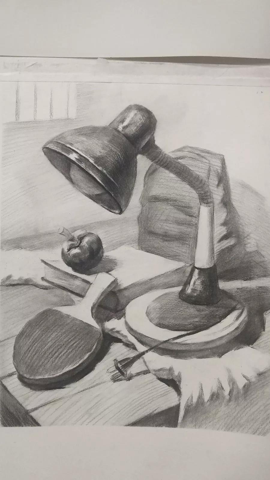 陈平老师在易森画室授课期间的作品展示