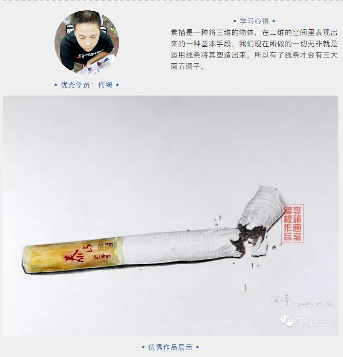 李靖画室寒假班优秀学员绘画作品