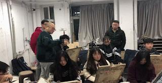 博昱画室  洪山博昱画室三美造型班素描头像作品展示
