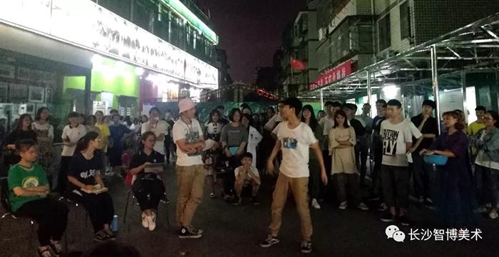 智博画室仲夏之夜排练舞蹈