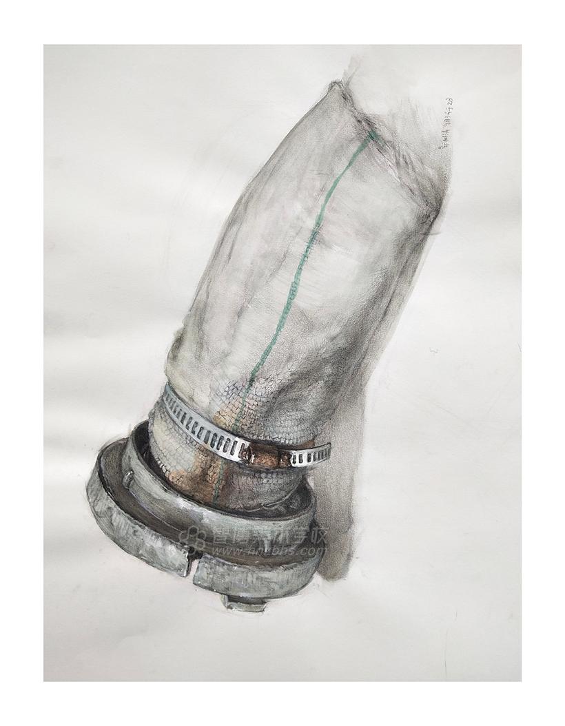 美术水管绘画步骤