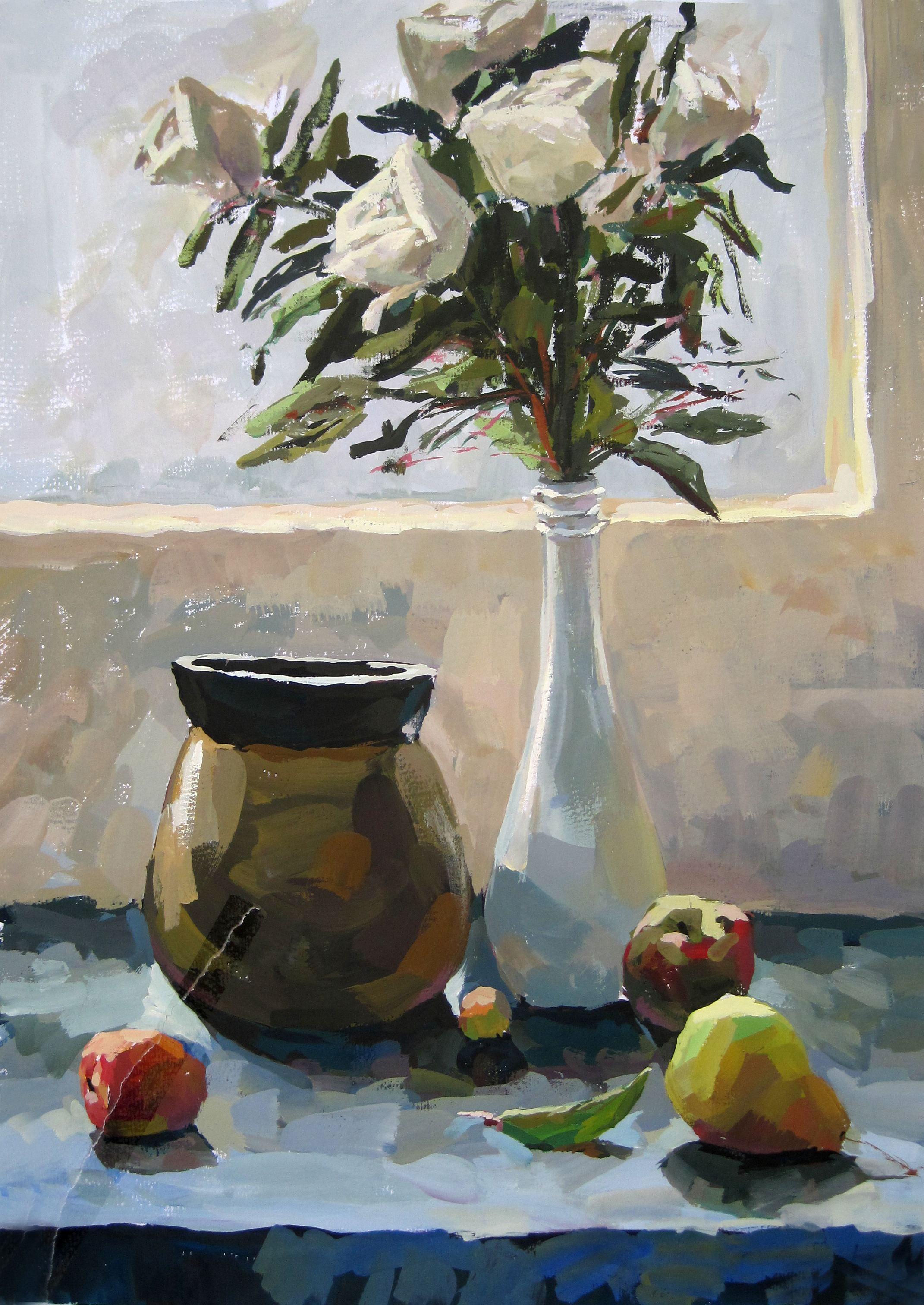 这五种场景色彩绘画常在美术高考 校考中考到,练起来!
