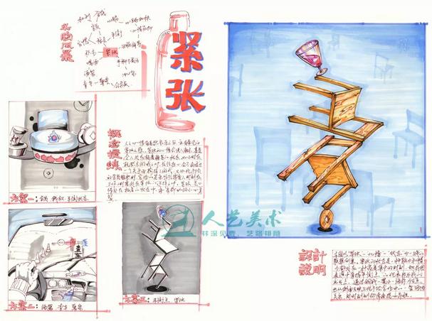 人艺画室|2019年美术高考 广州美术学院考题范画