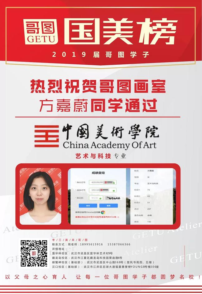 武汉哥图最新画室资讯